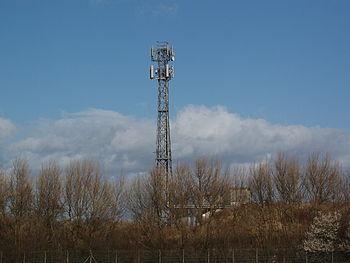 English: Telecommunications Tower, Blue Bridge...
