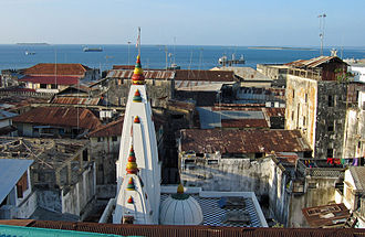 Hinduism in Tanzania - Shakti Temple in Stone Town