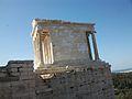 Temple de Nike Àptera o d'Atena Nike, Acròpoli d'Atenes.JPG