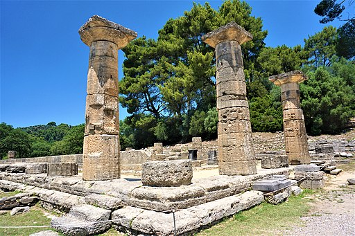 Temple of Hera, Olympia by Joy of Museums