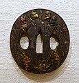 Tengu (tree sprites), tsuba, Japan, Miboku (known as Shozui or Masayuki), iron- Peabody Essex Museum - DSC07472.jpg