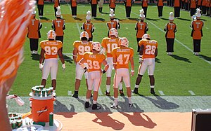 2007 Tennessee Volunteers football team - 2007 Captains vs. Georgia