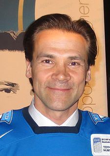 Teppo Numminen Finnish ice hockey player