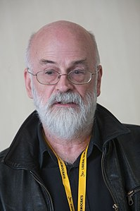 Pratchett pictured in 2009