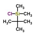 Tert-Butyl dimethylchlorosilane.png