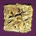Tesoro di cacuteni-baiceni, placca decorativa d'oro, V-IV sec. ac. 03.JPG
