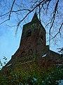 Texel - Den Burg - Binnenburg - View East on Protestant Church 'De Burcht' II.jpg