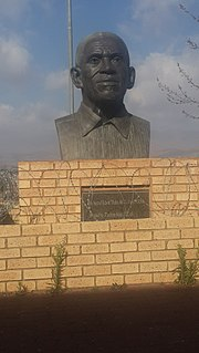 Thabo Edwin Mofutsanyana teacher, miner, journalist, and activist in the South African Community Party