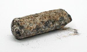 Thallium - Corroded thallium rod