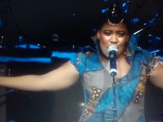 Thandiswa Mazwai - Thandiswa Mazwai Live on stage.