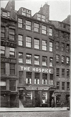 Grace Cadell - The Hospice on Edinburgh's Royal Mile