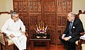 The Ambassador of Spain to India, Mr. Javier Elorza calls on the Union Minister for Road Transport and Highways, Dr. C.P. Joshi, in New Delhi on May 03, 2011.jpg