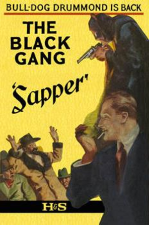 The Black Gang (novel) - First edition cover of The Black Gang