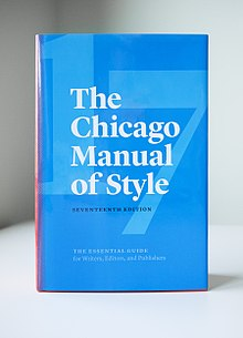 Chicago manual style thesis dissertation