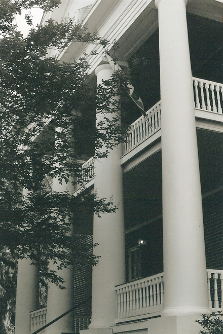 "The James Madison Institute (known as ""The Columns"") was the first home of the Leon County Free Public Library."
