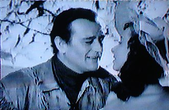 The Fighting Kentuckian - John Wayne and Vera Ralston in The Fighting Kentuckian (1949)