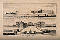 The Foundling Hospital, Holborn, London; a south-east view a Wellcome V0013440.jpg