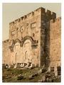 The Golden Gate (exterior), Jerusalem, Holy Land-LCCN2002725012.tif