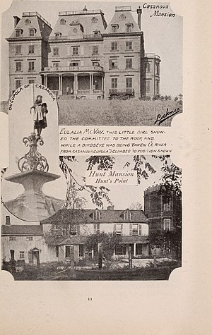 Hunts Point, Bronx - Casanova Mansion and Hunt mansion, 1890s