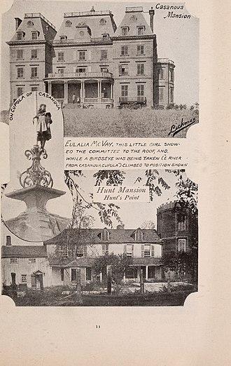 Hunts Point, Bronx - Casanova Mansion and Hunt mansion, 1890s