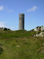 The Herring Tower on Langness Isle of Man - geograph.org.uk - 490645.jpg
