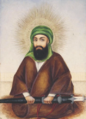 The Imam 'ali Qajar Iran, 19th Century (detail).png
