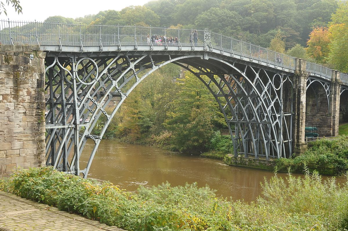 Oldest major iron bridge in the world