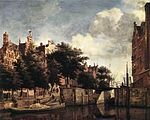 The Martelaarsgracht in Amsterdam 1670 Jan van der Heyden.jpg