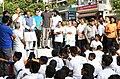 The Minister of State for Civil Aviation, Shri Jayant Sinha addressing at the flag-off ceremony of the 6th Slum Yuva Daud, at Hari Nagar Depot, in New Delhi.jpg