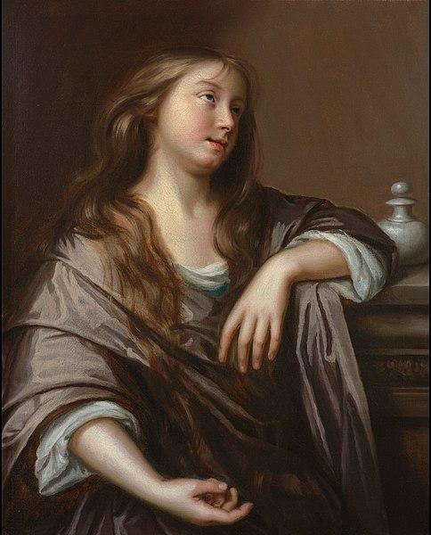 Archivo: La Magdalena penitente - Mary Beale - circa 1672.jpg