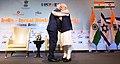 The Prime Minister, Shri Narendra Modi and the Prime Minister of Israel, Mr. Benjamin Netanyahu at the India-Israel Business Summit, in New Delhi on January 15, 2018 (1).jpg