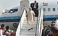 The Prime Minister, Shri Narendra Modi arrives at Mumbai Airport on December 24, 2016.jpg
