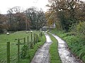 The Track From Howe Farm - geograph.org.uk - 287720.jpg