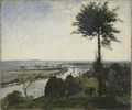 The Tree and the River III (The Seine at Bois-le-Roi) (Carl Fredrik Hill) - Nationalmuseum - 18867.tif