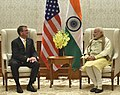 The US Secretary of Defence, Dr. Ashton Carter calling on the Prime Minister, Shri Narendra Modi, in New Delhi on December 08, 2016 (1).jpg
