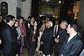 The Vice President, Shri Mohammad Hamid Ansari visiting the Mevlana Museum (Green Dome), in Konya, Turkey on October 12, 2011. Smt. Salma Ansari is also seen (1).jpg