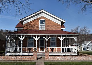 Weber House (Guttenberg, Iowa)