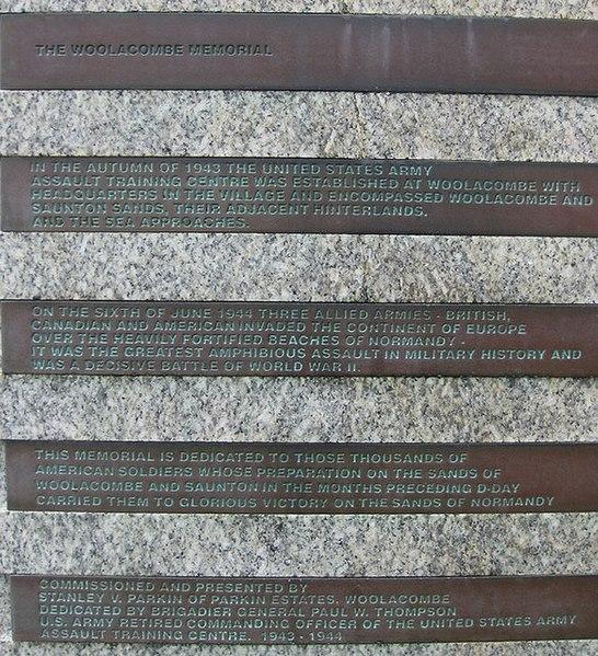 File:The Woolacombe Memorial - geograph.org.uk - 1326924.jpg