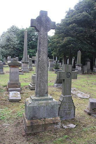 John Stuart (genealogist) - The grave of John Stuart LLD, Warriston Cemetery