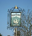 The sign of the Old Crown - geograph.org.uk - 704850.jpg
