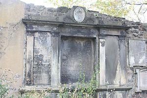 Maitland baronets - The tomb of the Gibson-Maitland baronets, Greyfriars Kirkyard