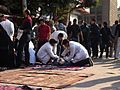 The wounded arrive in a steady stream - Flickr - Al Jazeera English.jpg