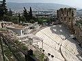 Theatre of Herodes Atticus and Acropolis Museum.jpg