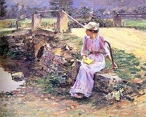 Theodore Robinson - La Débâcle 1892