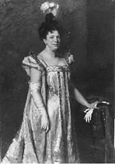 Portrait of the actress Sophie Pauwels-Van Biene (1852 - 1907)