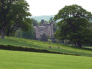 Thurland Castle - Thurland Castle, looking west from the A6