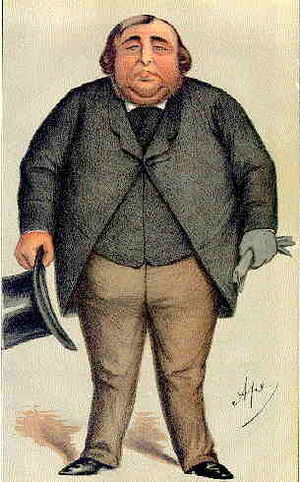Arthur Orton - Orton as portrayed in Vanity Fair  by ''Ape' June 1871
