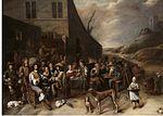 Tilborgh, Gillis van - Outside a Tavern -.jpg