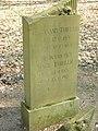 Tilsit Friedhof 2014 Ziv. Grab Thieler.JPG