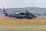 Timberline Helicopters (N274TH) Sikorsky UH-60A refuelling at Albury Airport.jpg